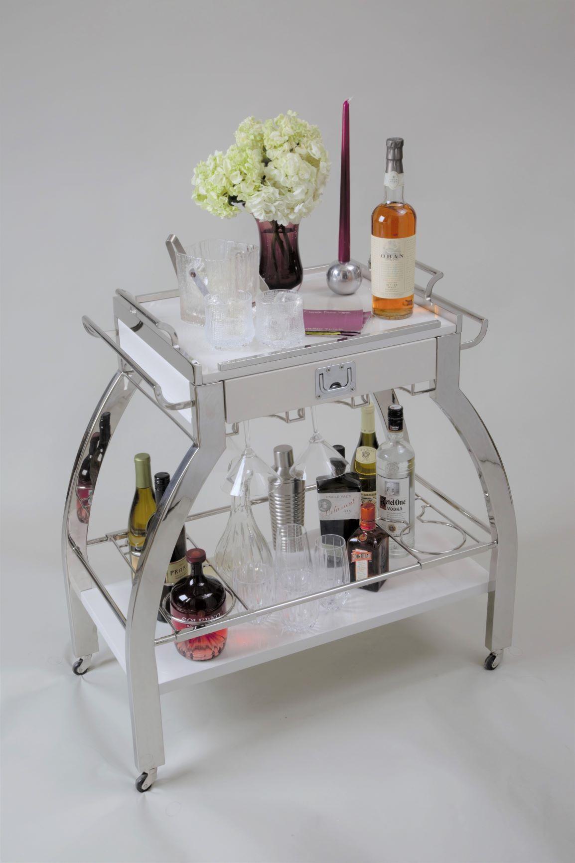 ballet bar cart