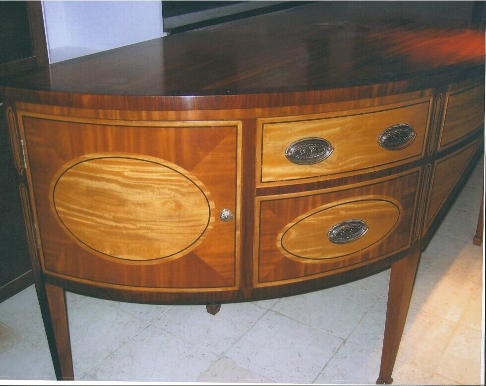 Bow Front-Credenza