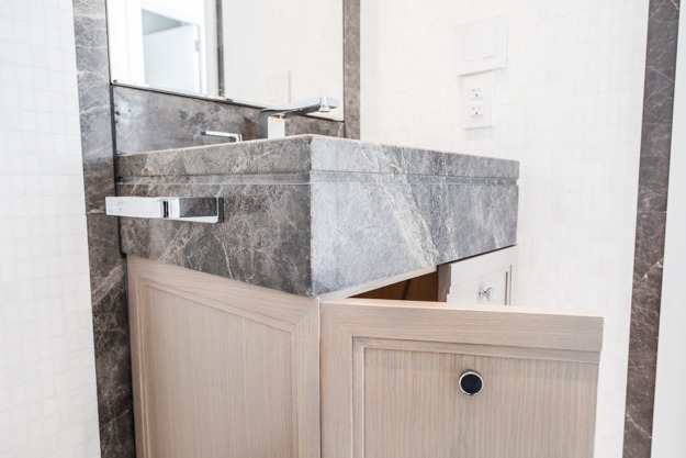 Meticulous kitchens, vanities & medicine cabinets on the upper east side.