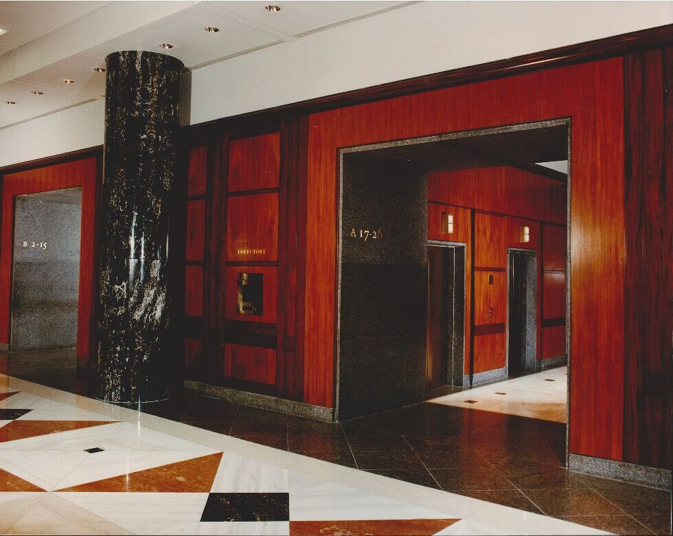 Mahogany-Panels-Brass-Numbers