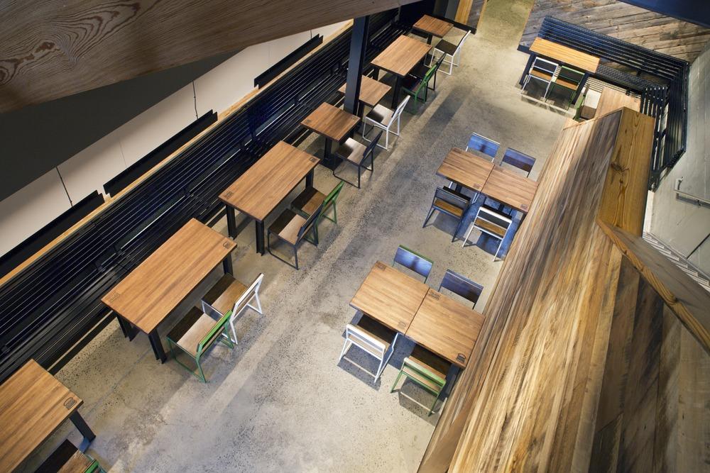 GER Industries Shake Shake Millwork Metalwork Furniture